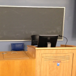 Technology Classroom Podium