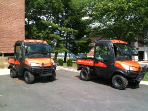 Kubota service vehicles